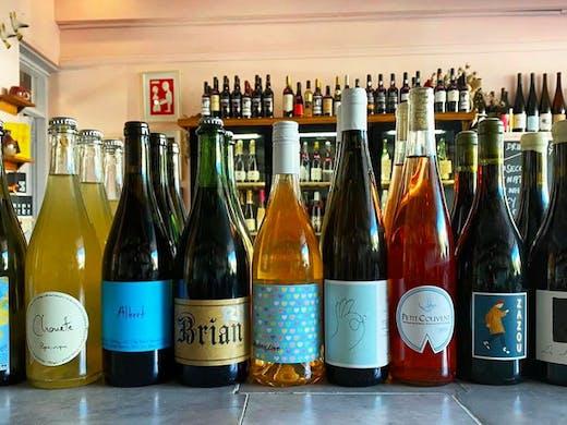 Natural wines at P&V Paddington