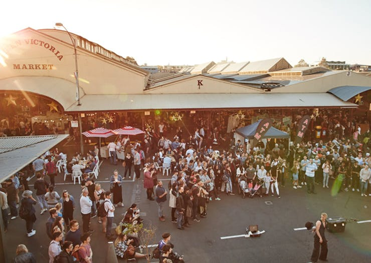 The Queen Vic Market Is Throwing A 140th Birthday Street Party