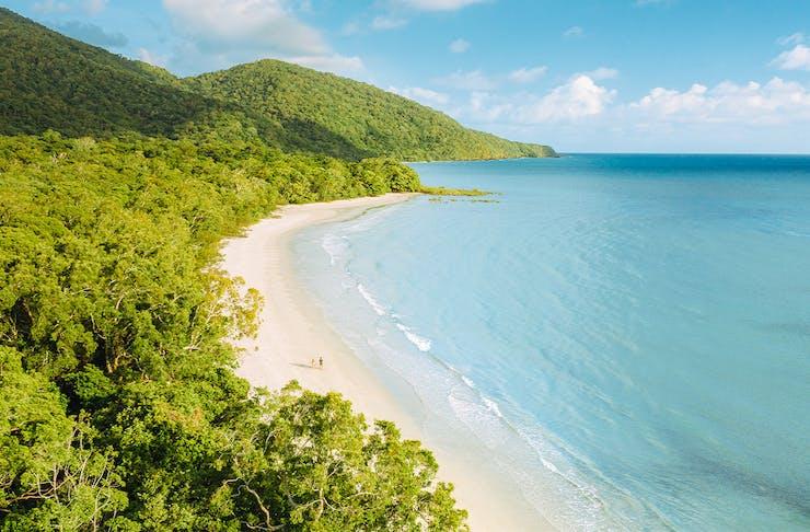 a beach in tnq