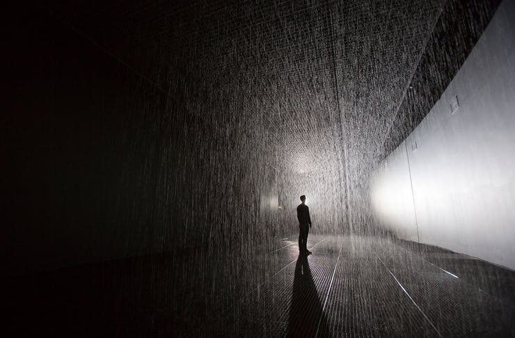 Just Announced: Rain Room's Melbourne Season Has Been Extended Until October