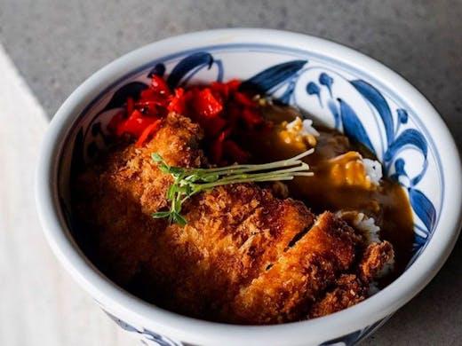 Chicken katsu curry from RaRa Chan