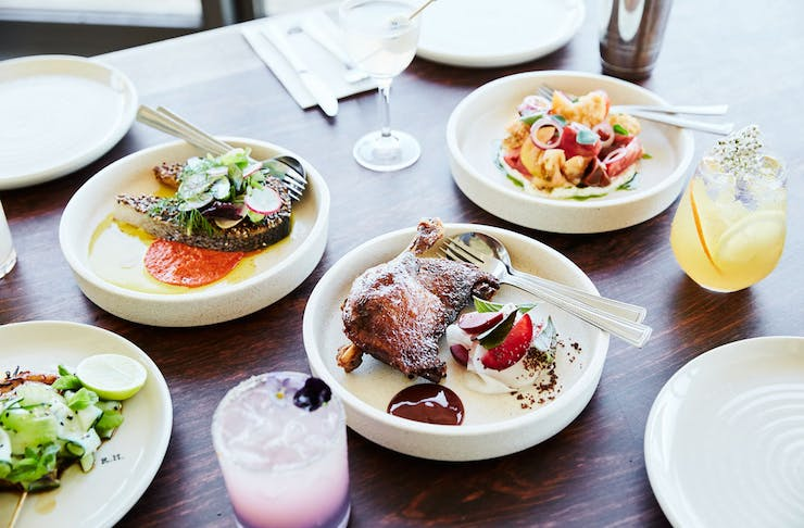 An array of dishes from Rare Hare that can be delivered to your door.