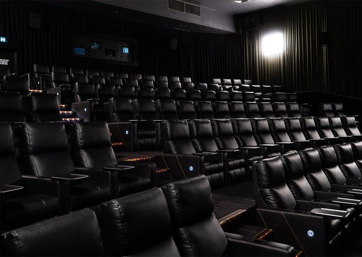 Catch A Movie In Fully Reclined Comfort At The West Side's Luxe New Cinema