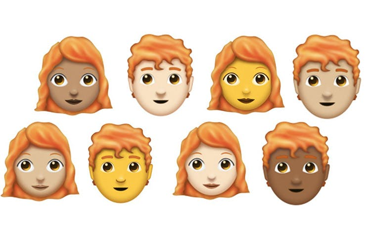 Redhead Emojis Are Finally Here!