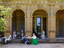 Find A Spot On The Lawn At Werribee Mansion's Charming New Brunch Spot