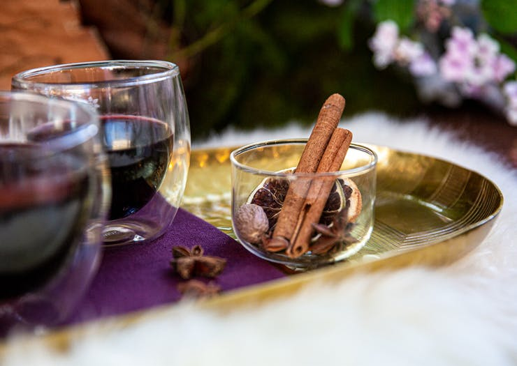 Sip On Four Flavours Of Mulled Wine From A Mulled Wine Trolley At This Winter Pop-Up