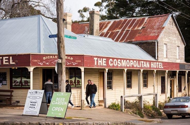 Cosmopolitan Hotel in Trentham, Victoria.