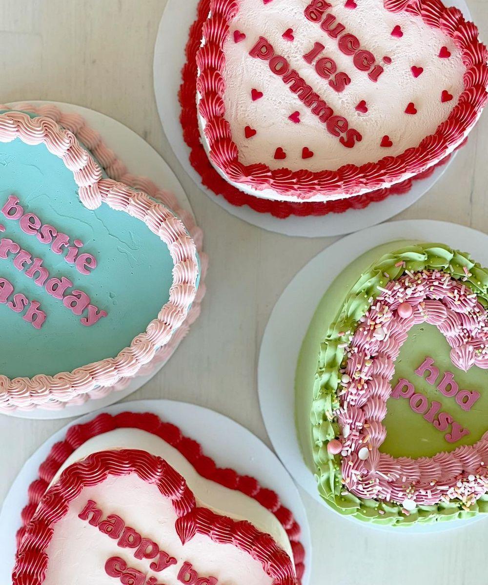 Retro cakes form Perth Cake Collective