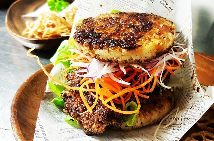 rice burgers