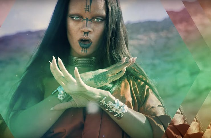 rihanna sledgehammer video