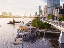 Pop The Champagne, Brisbane Is About To Score A New Over-The-Water Bar In The CBD