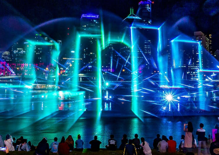 Get Hyped, An Incredible Light And Laser Show Is Hitting Brisbane Next Month