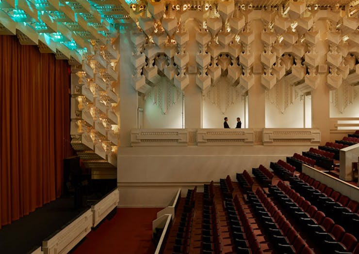 Your First Glimpse Inside The New-Look RMIT Capitol Theatre