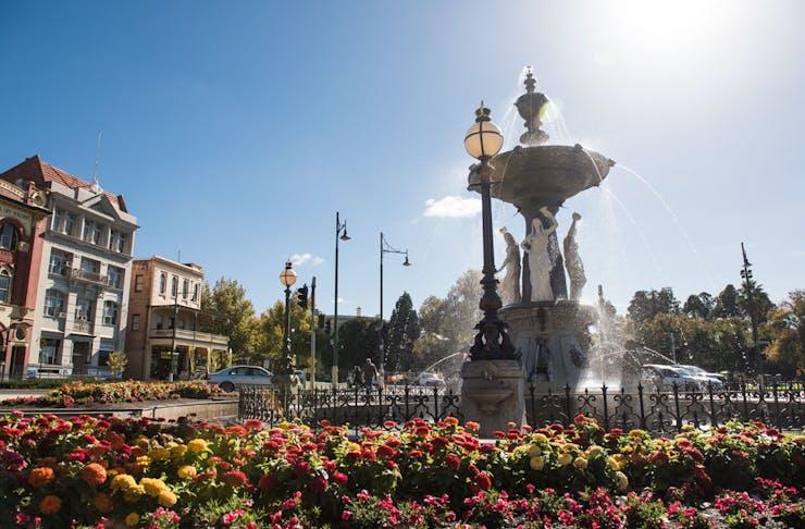 Alexandra Fountain in Bendigo, Victoria.