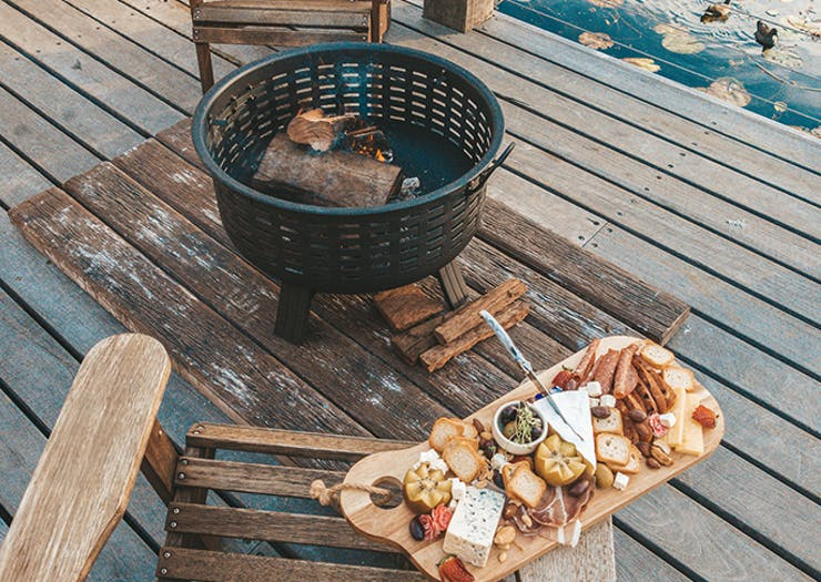 Robina Pav Is Renting Out Fire Pits With Marshmallow Toasting Kits And Cheese Boards