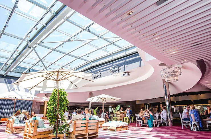 The Brunch Club rooftop bar Brisbane