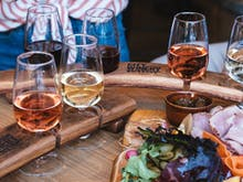 Stomp Grapes And Down Vino At The Rosé Festival Coming To The Valley
