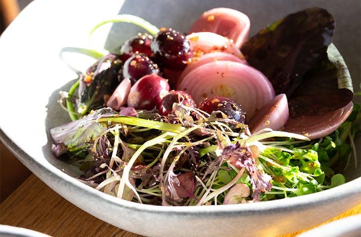 a salad