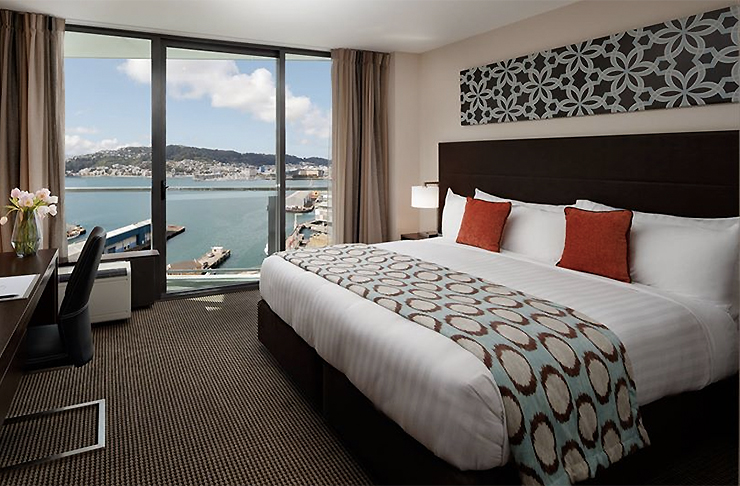 Stunning harbour views at Rydges Wellington.