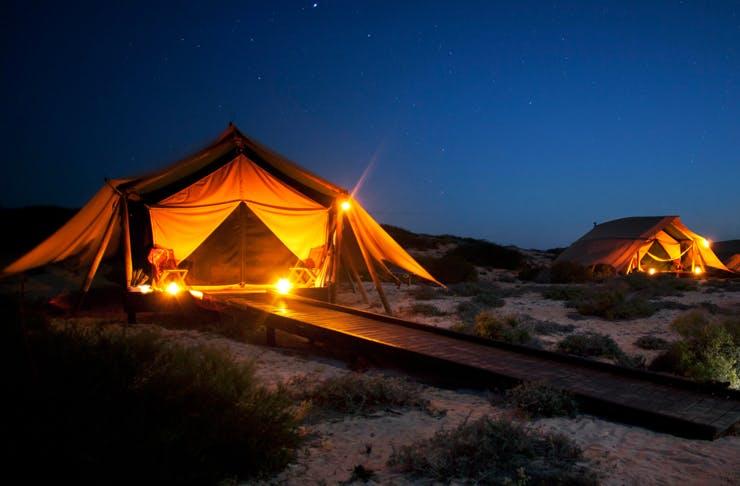 beachfront camping australia