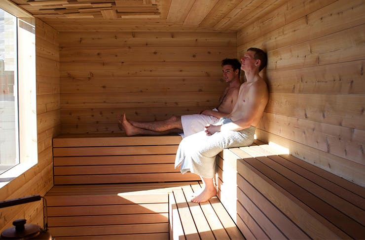 A Pop-Up Sauna Is Coming To Auckland's Waterfront!
