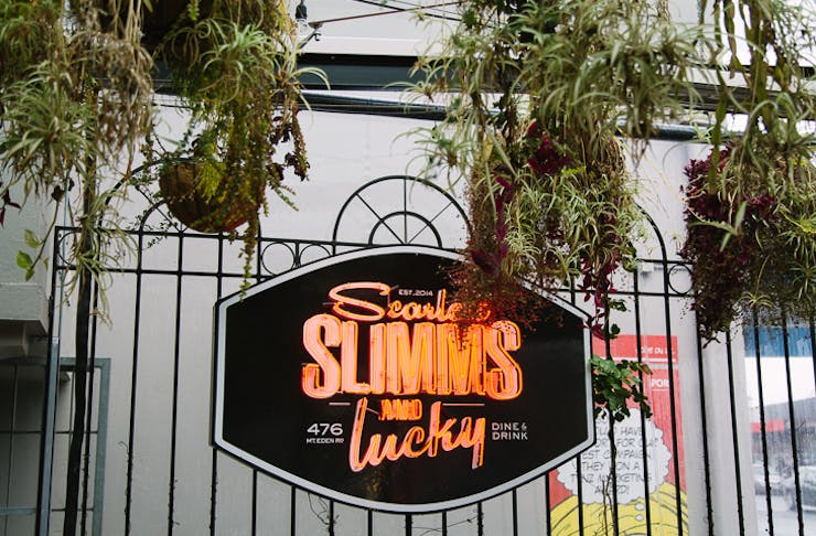Scarlett Slimms and Lucky Mt Eden