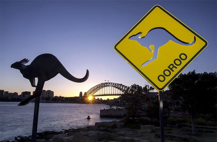 Sculptures at Barangaroo Sydney