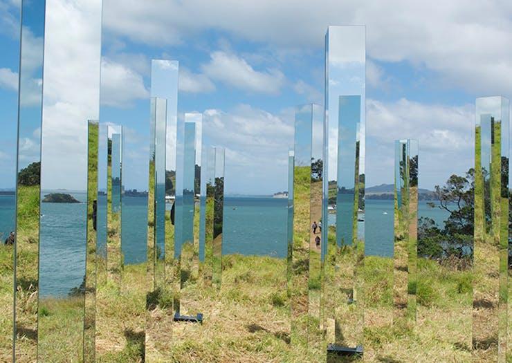 Take A Dramatic Art Journey At Waiheke's Sculpture On The Gulf