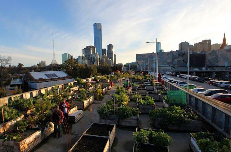 Melbourne's secret parks