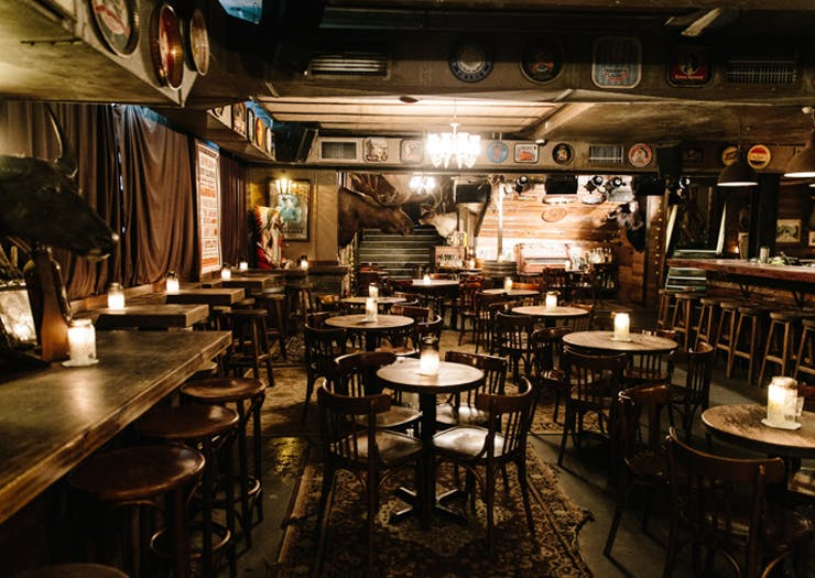 shady pines bar in Sydney
