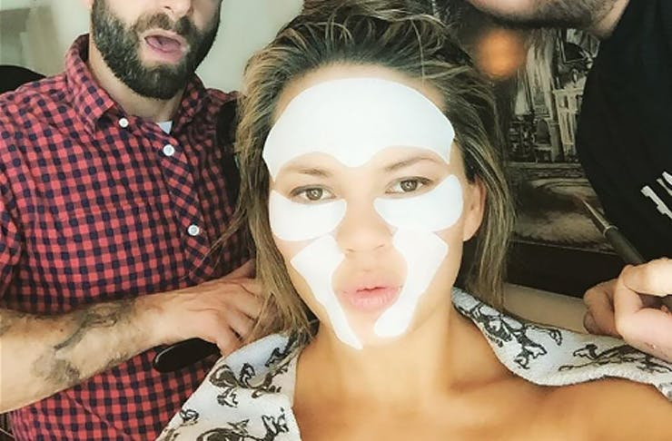 sheet mask chrissy teigen