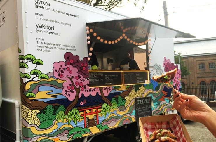 Sydney food truck shisho fine