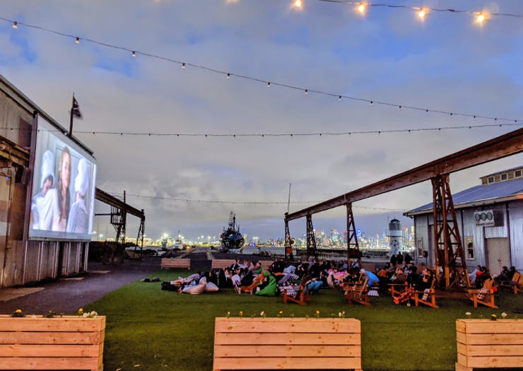 BYO Chair, A Waterside Outdoor Cinema Is Opening On The Williamstown Docks This Week