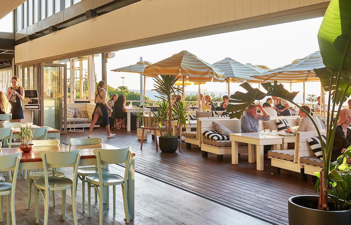 Interior at The Shorehouse Beachside Venue in Swanbourne
