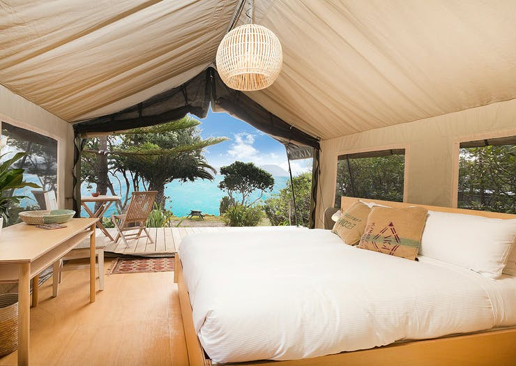 10 Of The Best Glamping Spots Near Auckland To Kick Back At This Summer