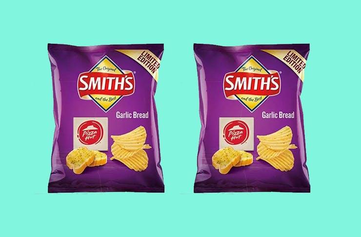 smith's garlic chips