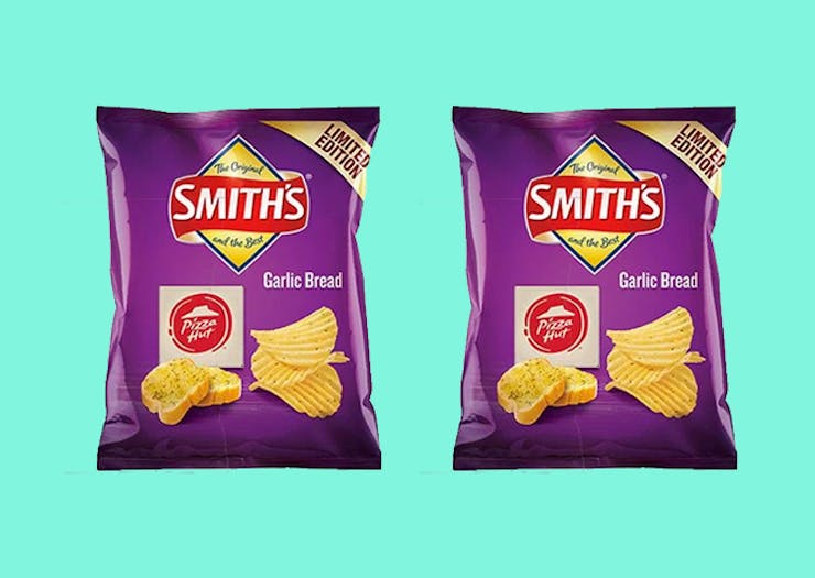 People Are Losing It Over Smith's New Garlic Bread Flavour Chips