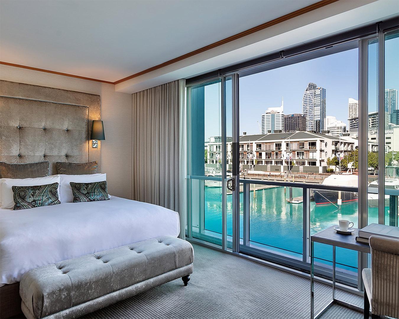 The Luxury Marina View Room at Sofitel.