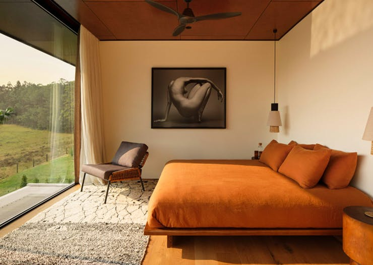 a guest room at Soma Byron Bay