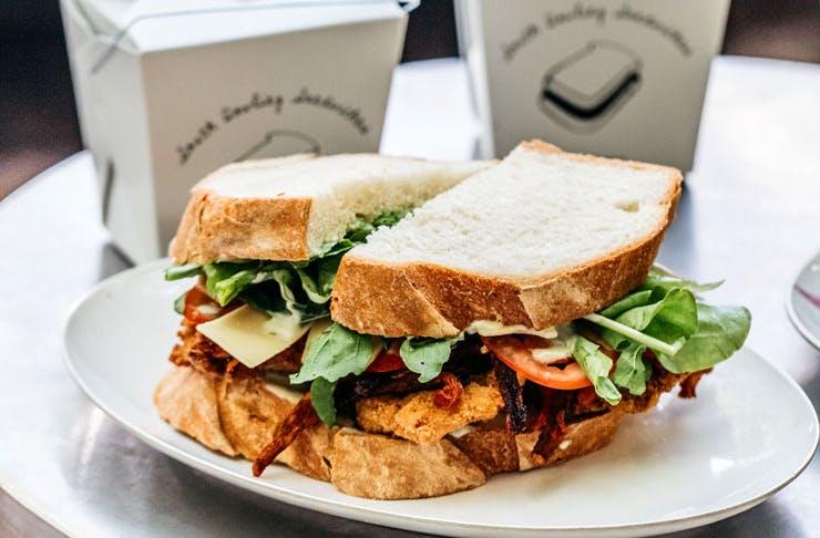 The Hugo sandwich at South Dowling Sandwich
