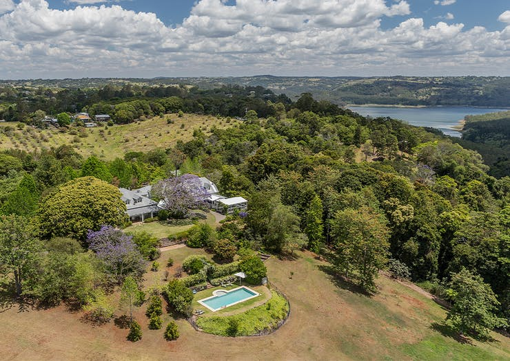 Spicers Clovelly Estate from the air