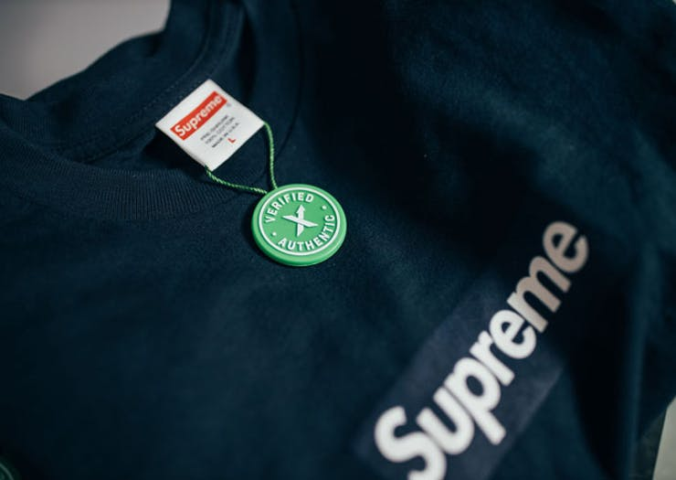 A Supereme t-shirt