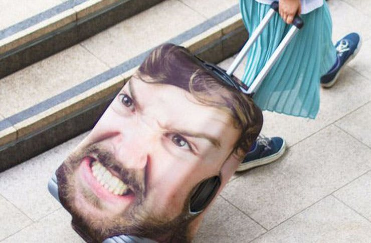 Say What? You Can Now Put Your Face On Your Luggage