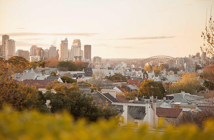best sunset spots sydney