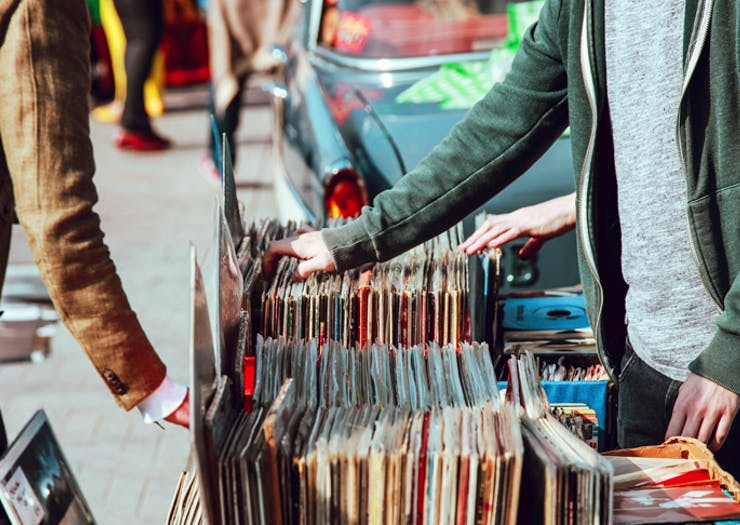 A Giant Record Fair Is Popping Up On The Coast This Weekend!