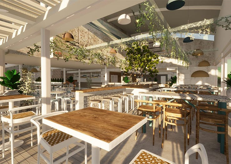 Surfers Paradise Is Getting A Massive Waterfront Venue With A Dedicated Frosé Bar