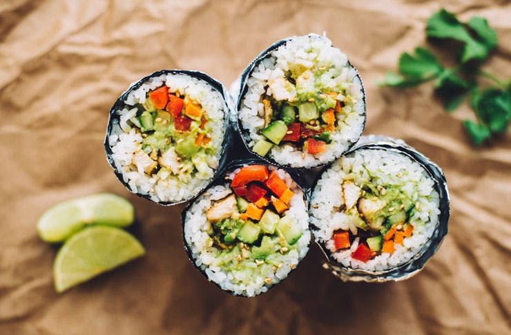 Sushi Burrito Brisbane