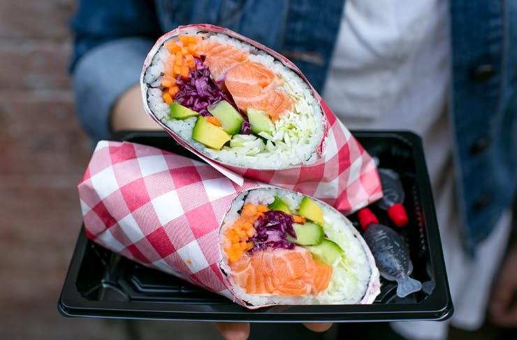 sushi burritos sydney