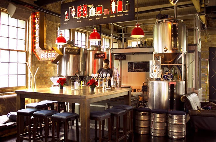 The Verdict Sweat Shop Brew Kitchen Auckland The