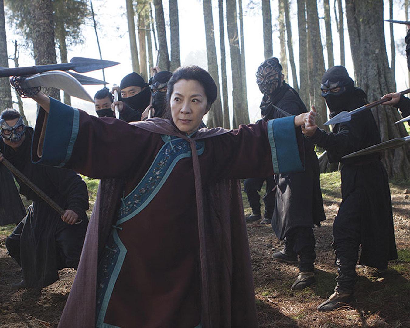 Michelle Yeoh faces enemies in Sword of Destiny